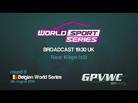 GPVWC 2015 - World Sport Series R09 - Belgium World Series