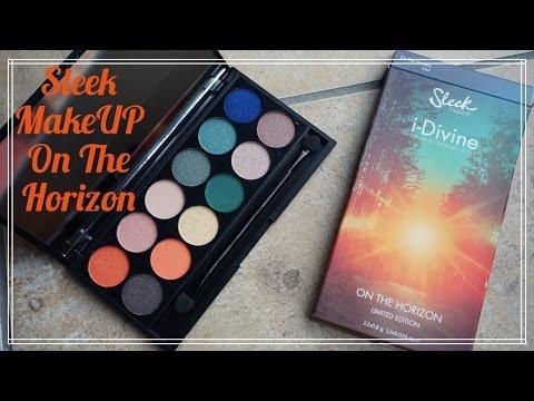 REVIEW: Sleek MakeUP On The Horizon eyeshadow palette