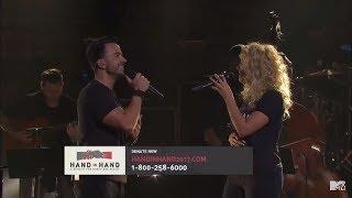 "Download Lagu Luis Fonsi perform ""Hallelujah"" Spanglish | ""Hand In Hand"" A Benefit For Hurricane Relief | MTV Gratis STAFABAND"