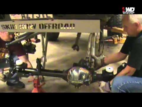 How to Install Dynatrac ProRock 44 Axles on a JK Wrangler