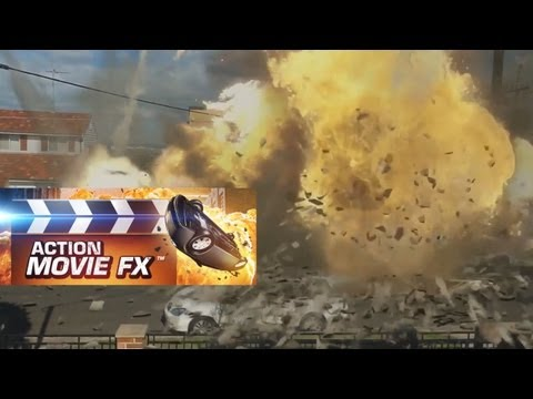 Black Ops 2: Action Movie FX - Effects Demo (iPhone/iPad App)