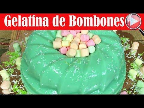 Gelatina de Bombones/Malvaviscos - Recetas en Casayfamiliatv