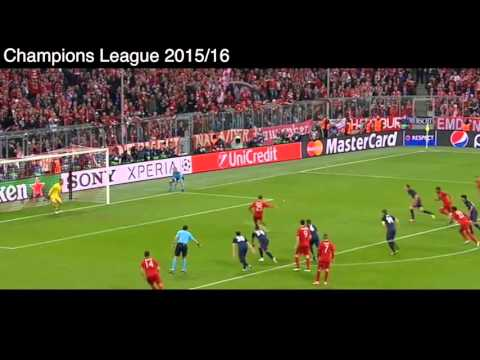 Gol de Antoine Griezmann vs Bayern Munich, Bayern Munich 2 - 1 Atlético de Madrid, Semifinales
