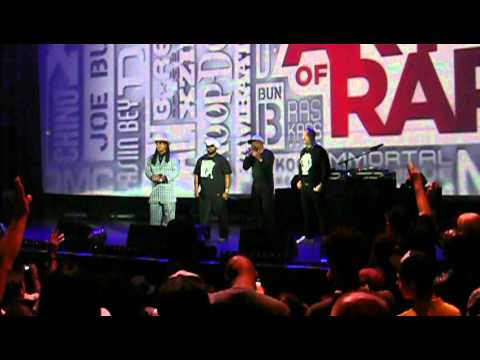 Art of Rap World Premiere ICET, Chuck D, Melle Mel & Raekwon Hammersmith Apollo 19.07.12