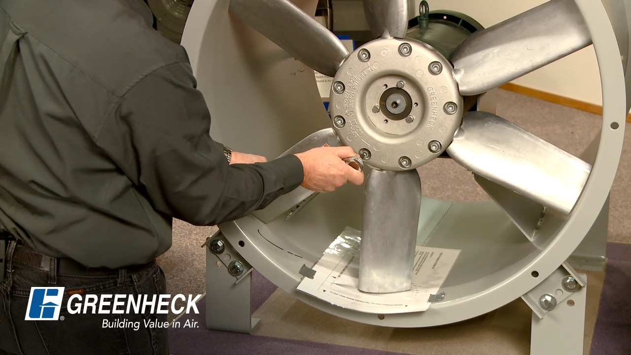 Greenheck Fans Propeller : Greenheck how to change fan blade pitch youtube