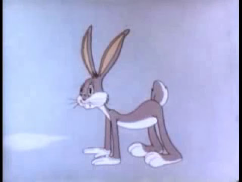 BUGS BUNNY CARTOON | Bugs Bunny in Falling Hare (Public Domain)