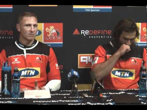 120705 Mtn Lions Press Conference ahead of the Rebals game