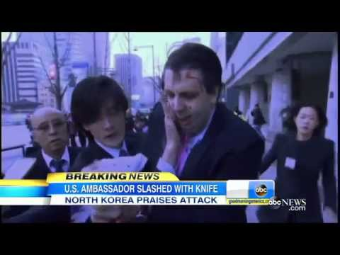 BREAKING NEWS: U.S. AMBASSADOR TO SOUTH KOREA GETS ATTACKED