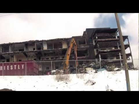 St. Joseph's General Hospital (North Bay and District Hospital) Demolition