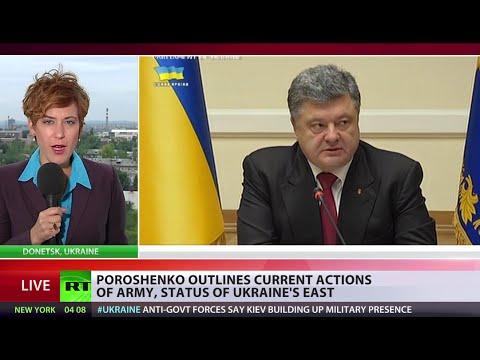 Poroshenko promises Donetsk, Lugansk special status inside Ukraine