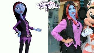 Disney Vampirina Characters in Real Life !!