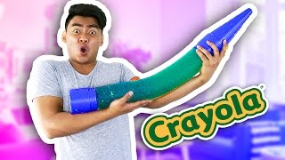 DIY GIANT GUMMY CRAYON!