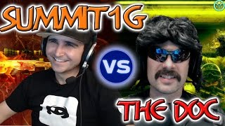 Summit1G vs Dr Disrespect Round 4: CSGO | Gameplay + Chat Replay