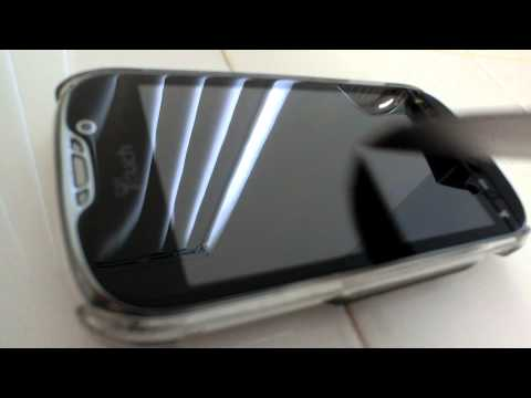Dynaflo LIQUID-ARMOR INVISIBLE screen protector scratch test #2