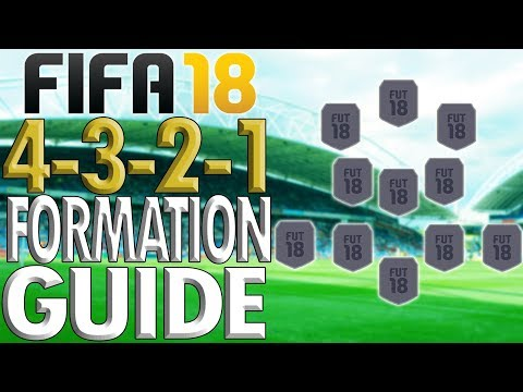 BEST FORMATION IN FIFA 18!!: 4-3-2-1 Formation Guide/Review (Best Instructions/How To Play With)