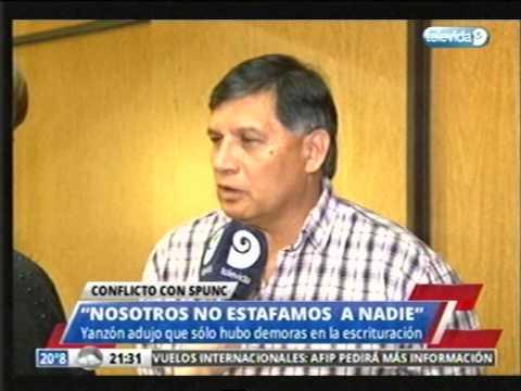 SPUNC: declaraciones de Víctor Yanzón