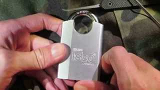 Lock Picking - ISEO 50mm Padlock (Thanks Best Lock Collector USA)