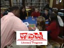 Justin Tuck and Toys for Tots Literacy Program