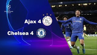 Chelsea 4 - Ajax 4 | UEFA Champions league