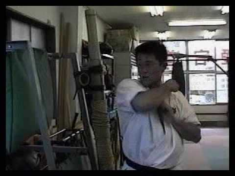 Kyokushin karate training.mpg Image 1