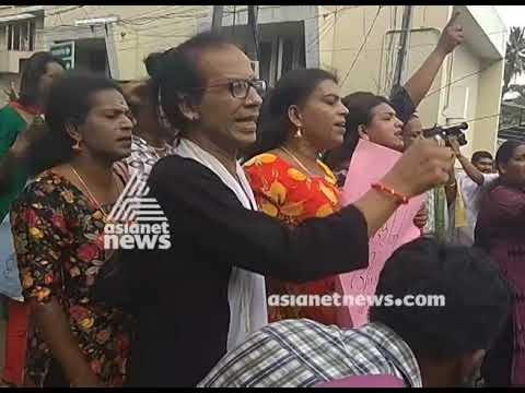 Transgenders march against BJP state committee office