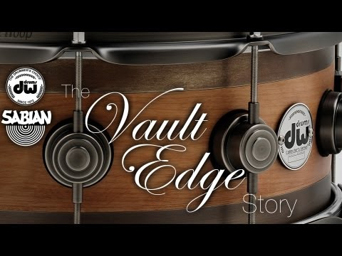 The Vault Edge Story - DW & Sabian Unite to Make a Very Unique Snare Drum