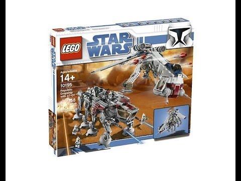 LEGO Star Wars 10195 Republic Dropship y AT-OT Exclusivo Review Lego Español Republic Transport