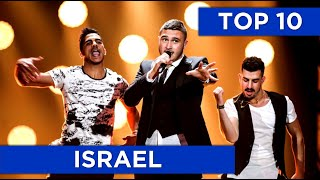 TOP 10 | Israel in Eurovision (2008 - 2017)