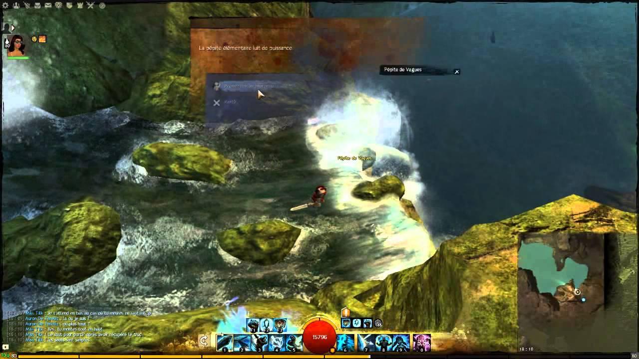 Guild Wars 2 Jumping Puzzle Jardin Cach Hidden Garden Youtube
