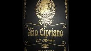 Simpatia de São Cipriano livro de capa preta (11) 3255-2005.