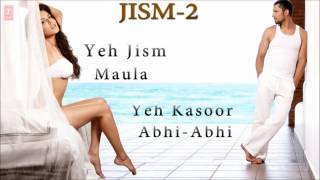 Jism 3 - Jism 2 Full Songs | Sunny Leone, Randeep Hooda | EXCLUSIVE | Jukebox-1