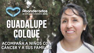 Guadalupe Colque obtuvo el premio Abanderados 2014
