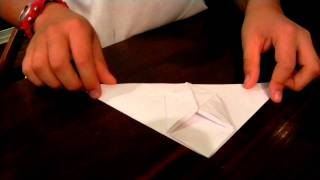 How To Make An Origami Inflatable Bunny!