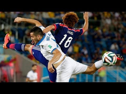 Japan vs. Greece, 2014 World Cup: Surprise, it's a 0-0 draw