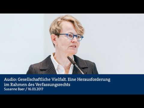 Audio: Gesellschaftliche Vielfalt. Eine Herausforderung im Rahmen des Verfassungsrechts
