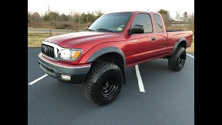 Lifted 2003 Toyota Tacoma SR5 4x4 V6!