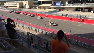 Lone star Le Mans warm up start