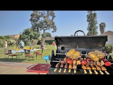 Kabobeque BBQ Grill Commercial