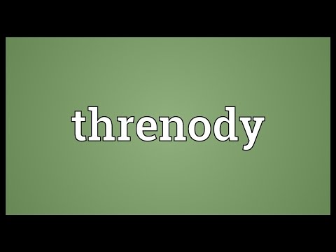 Header of threnody