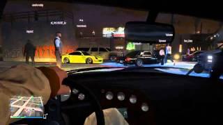 GTA 5 Online Heits Авто Сходка и ДрагРейс Ep.15 (PS4 NextGen)