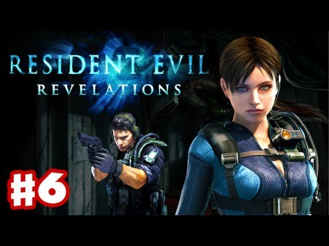 Resident Evil Revelations - Gameplay Walkthrough Part 6 - A Nightmare Revisited (3DS. PS3. XBox 360)