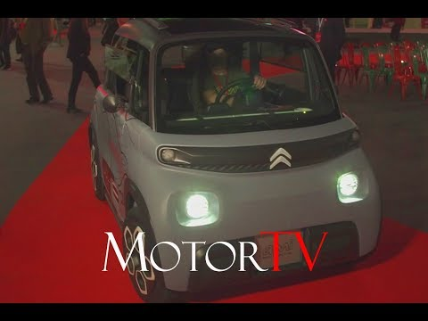 Meet 2020 Citroën Ami, a new electric micro car that you can drive without a licence