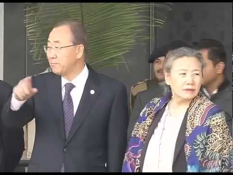 Ban Ki-moon reaches India for four-day visit