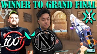 WINNER TO GRAND FINAL ! 100T VS ENVY | Champions Tour NA Challengers 4 Main Event  APR 10 2021