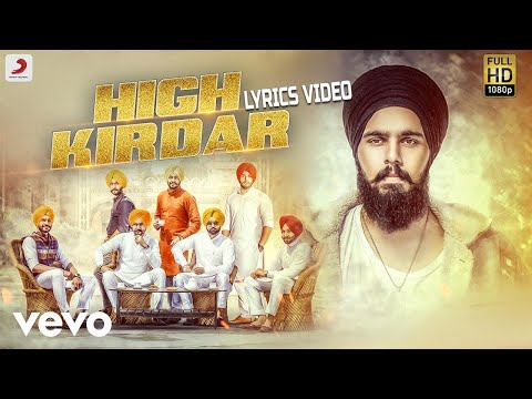 High Kirdar - Lyrics Video | Jugraj Rainkh ft. MBR