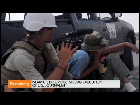 Islamic State Video Shows U.S. Journalist Execution