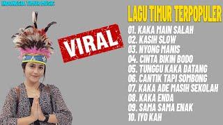 Download lagu LAGU TIMUR TERPOPULER 2021 [FULL ALLBUM] Hits Kaka Main Salah