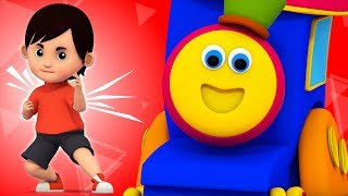 Action Song   Learning Street With Bob The Train   Sight Word   Videos For Children by Kids Tv