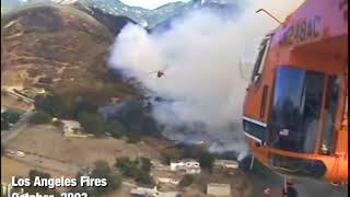 Fire Fighting in California with Erickson AirCrane