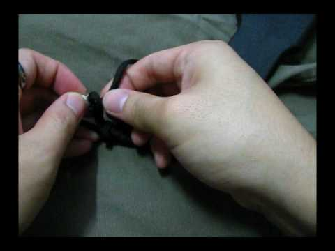 How to tie a Chris Reeve style lanyard
